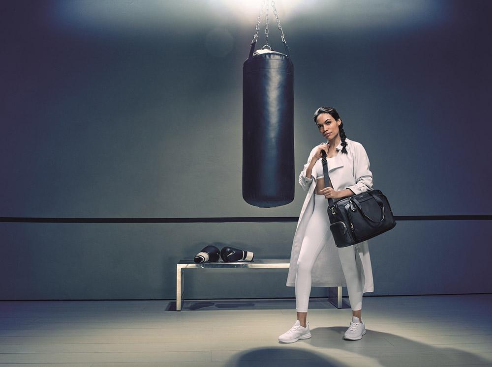Tumi Taps Rosario Dawson For Women's Brand Campaign photo