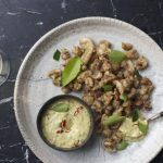 Salt and pepper squid with jalapeno and honey dipping sauce, by chef Pete Goffe-Wood photo