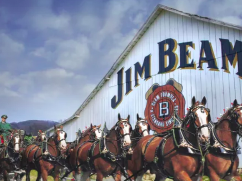 Clydesdales! Country Star! New Jim Beam-bud Co-branded Beer Ad Pulls Out All The Stops photo