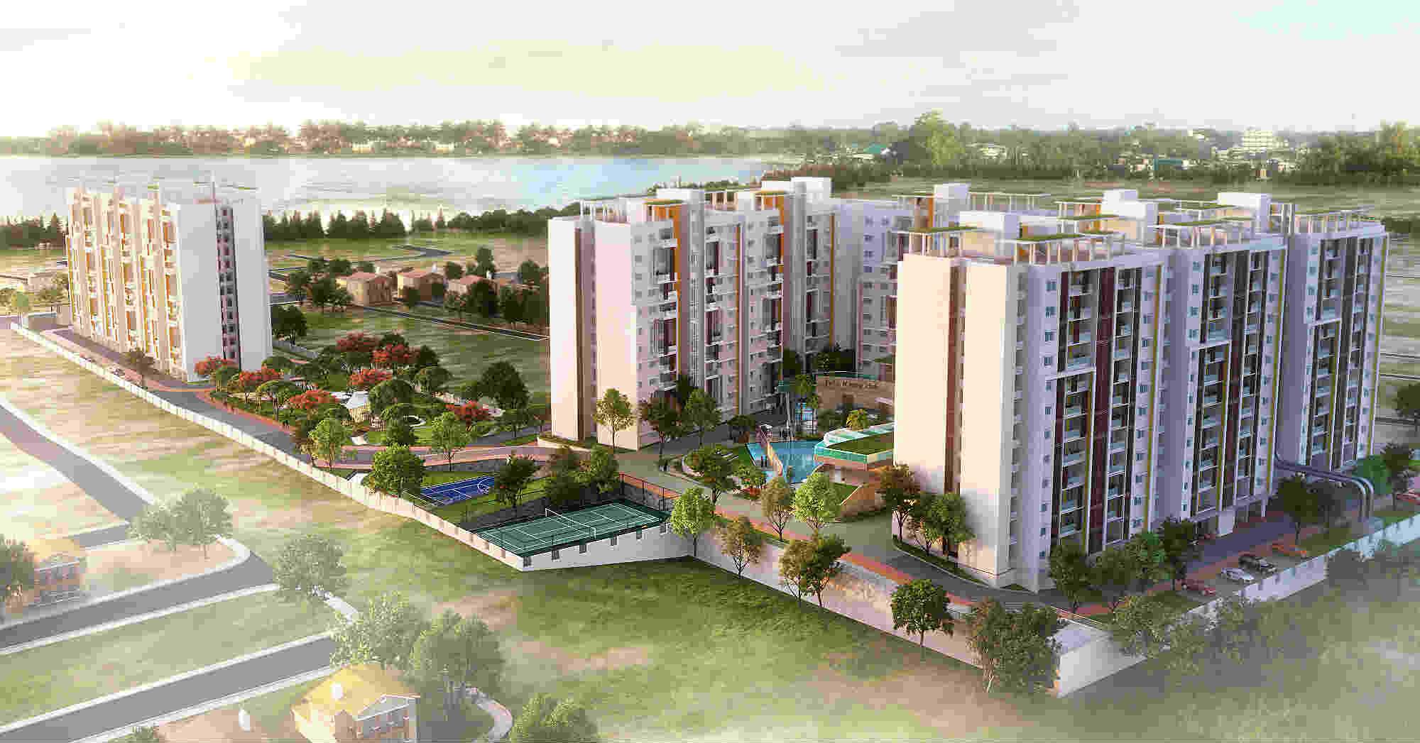Shriram Blue Apartments in East Bangalore photo
