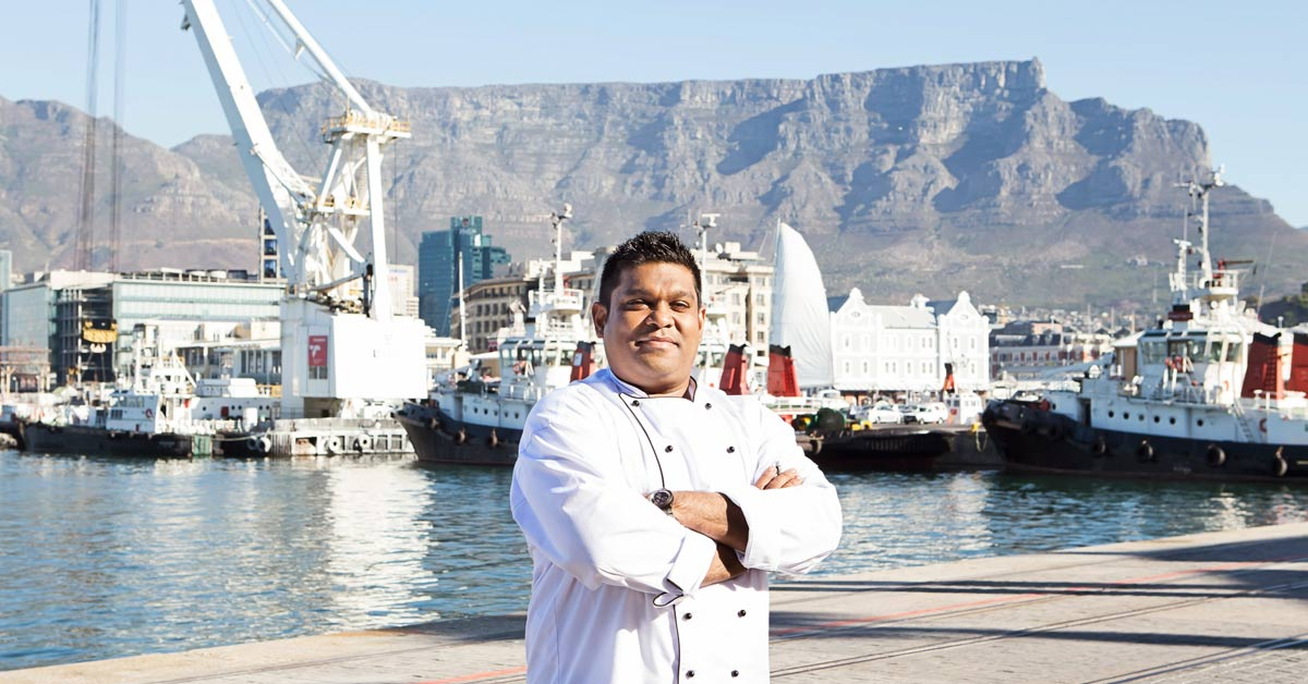 Keshan Ramburan In Charge As Executive Chef At The Table Bay photo