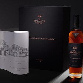 Police Close Road In Macallan Whisky Sale Scramble photo
