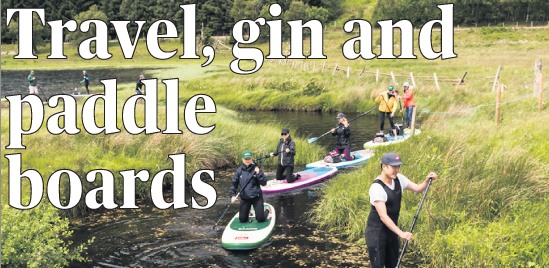 Travel, Gin And Paddle Boards photo