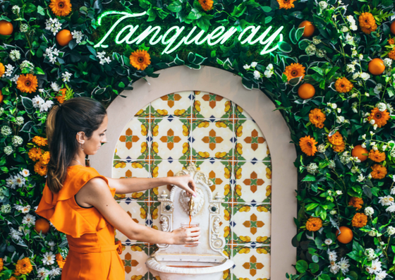 Tanqueray Launches Uk's First Negroni Fountain photo