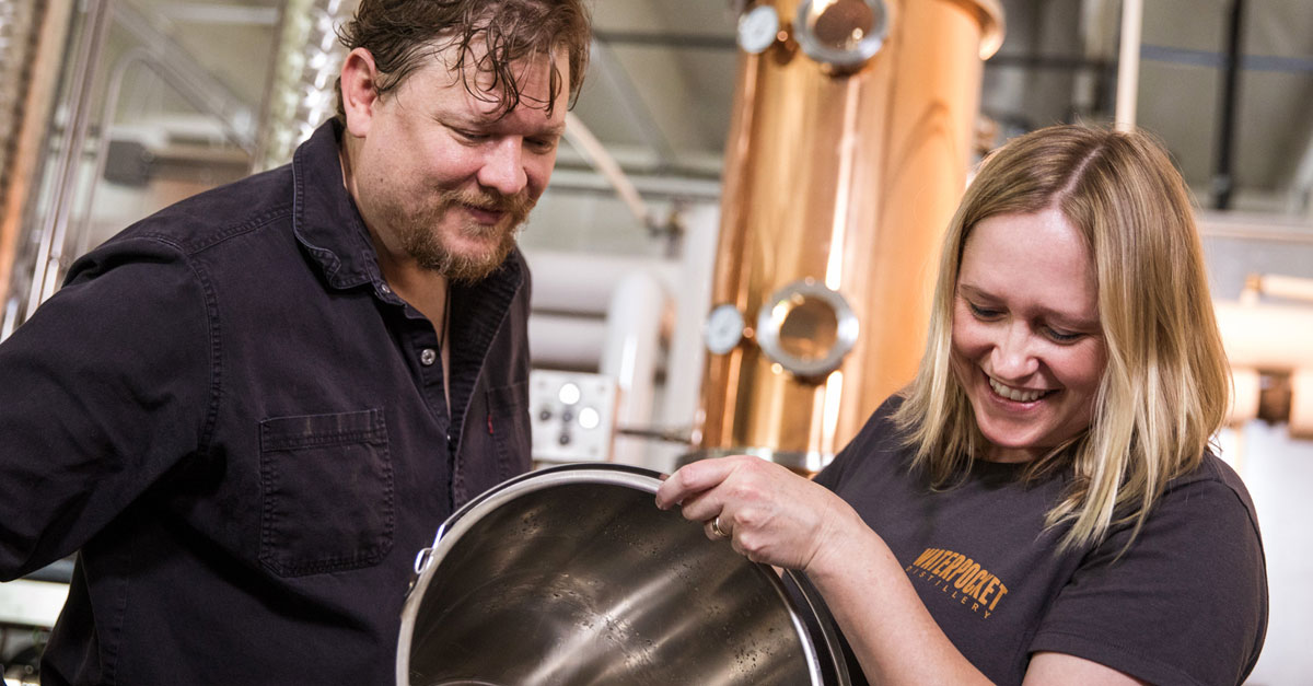 'not The Worst Place To Own A Distillery': The Couple Reviving Craft Spirits In Salt Lake City, Utah photo