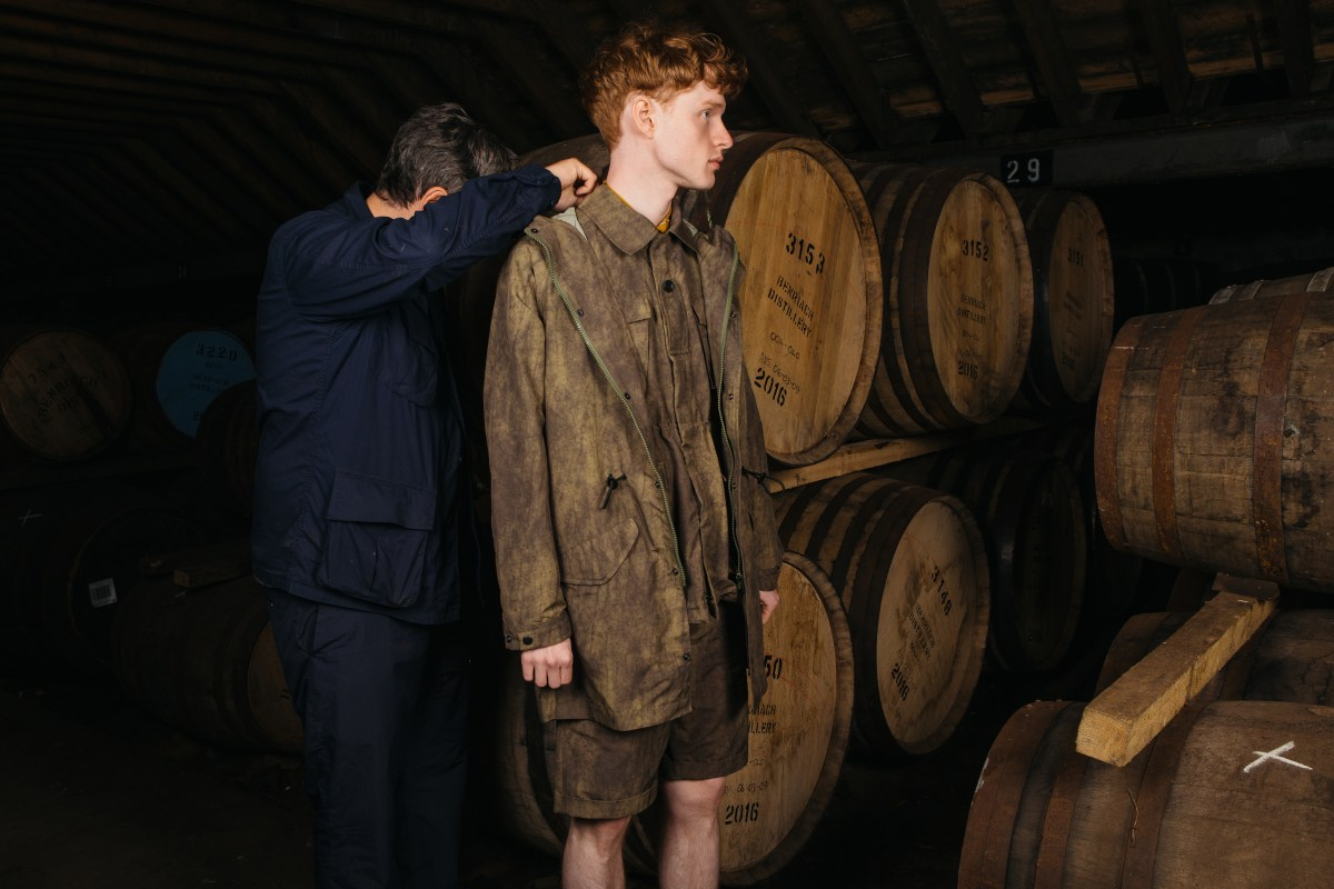 Designer Kestin Hare + Benriach Whisky?s Capsule Collection photo