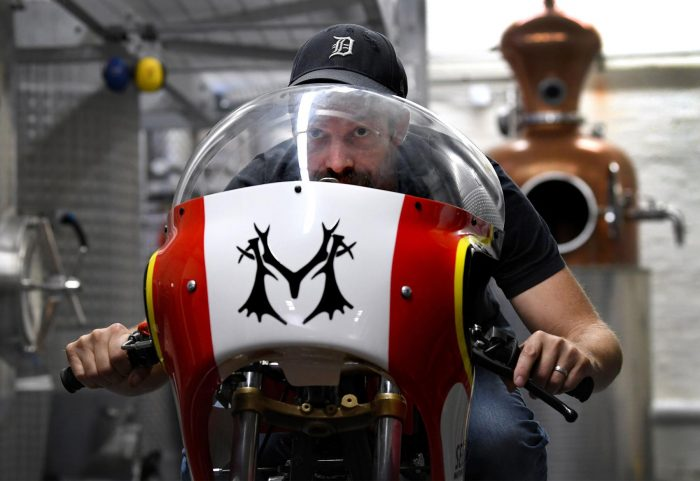 Motorbike Powered On Vodka Breaks Speed Record photo