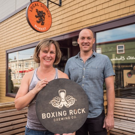 Boxing Rock Brewing Opens Pilot Brewery & Bottle Shop At Local Source Market In Halifax photo