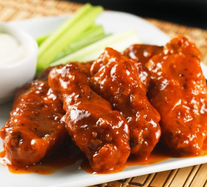 The Most Amazing Buffalo Chicken Wings You'll Ever Make! photo