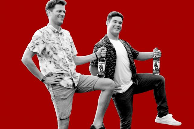Captain Morgan Seeks Boost From Adam Devine As Rum Keeps Falling photo