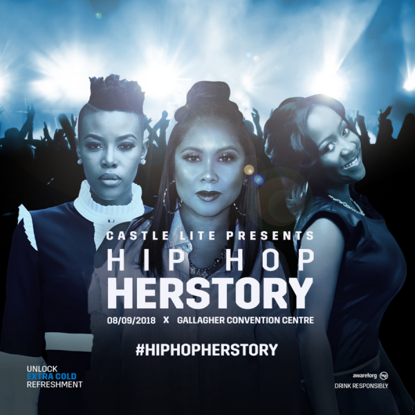 Castle Lite Presents First Ever All Female Hip Hop Concert 'hip Hop Herstory' – photo