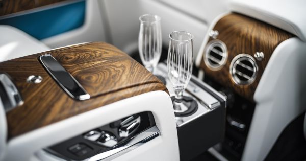 BMW Is Patenting Champagne Glasses That Fill From The Bottom photo