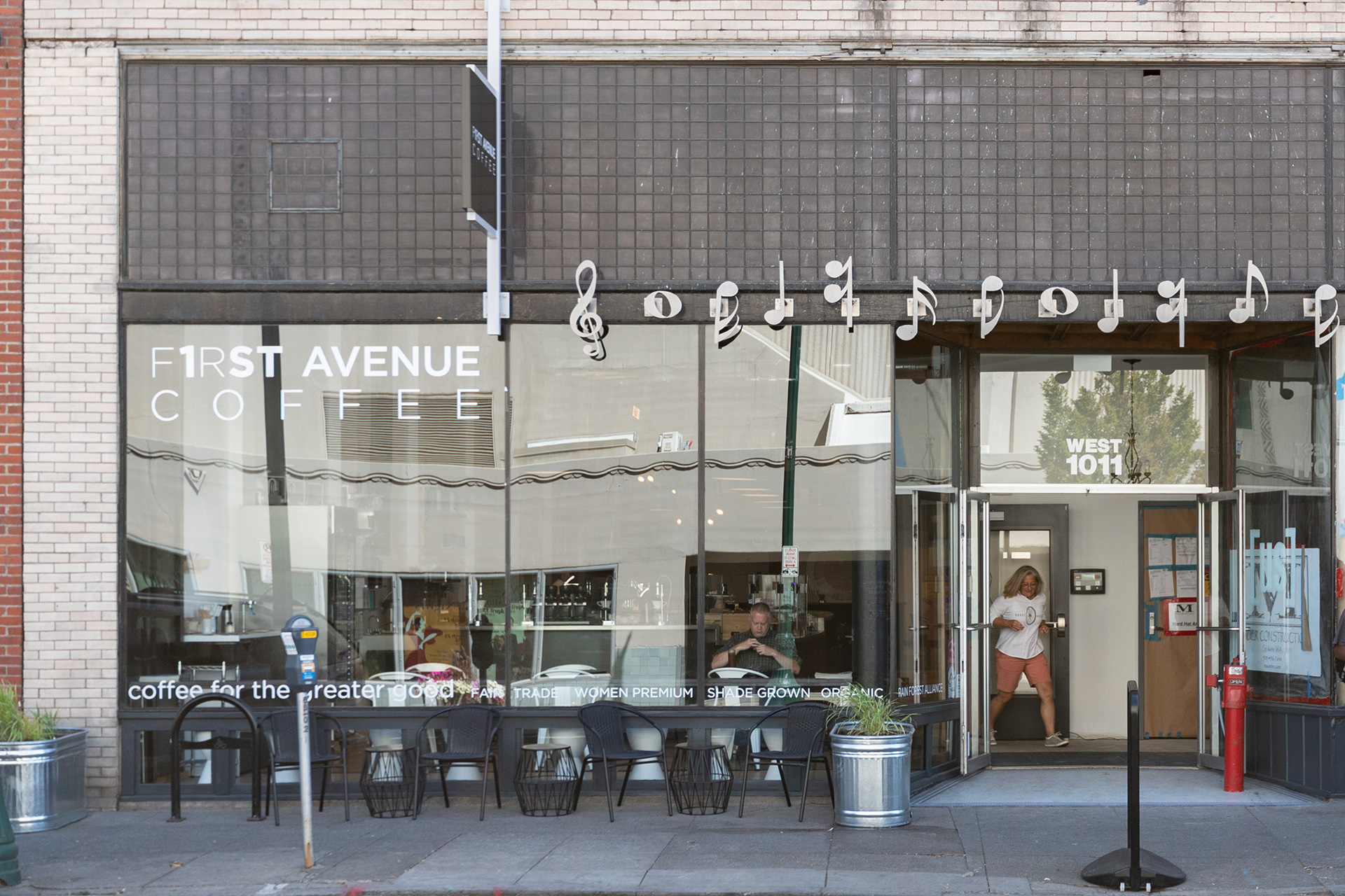 Build-outs Of Summer: First Avenue Coffee In Spokane, Wa photo