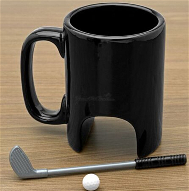 golf Brighten Up Your Morning With These Unique Ceramic Coffee Cups