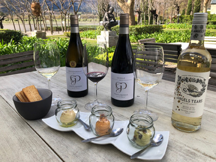 New Savoury Hummus And Wine Pairing At Grande Provence photo