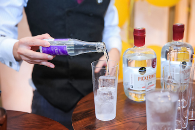 Inventive New Pickering's Gin Bar Makes A Splash At Nali Patio photo