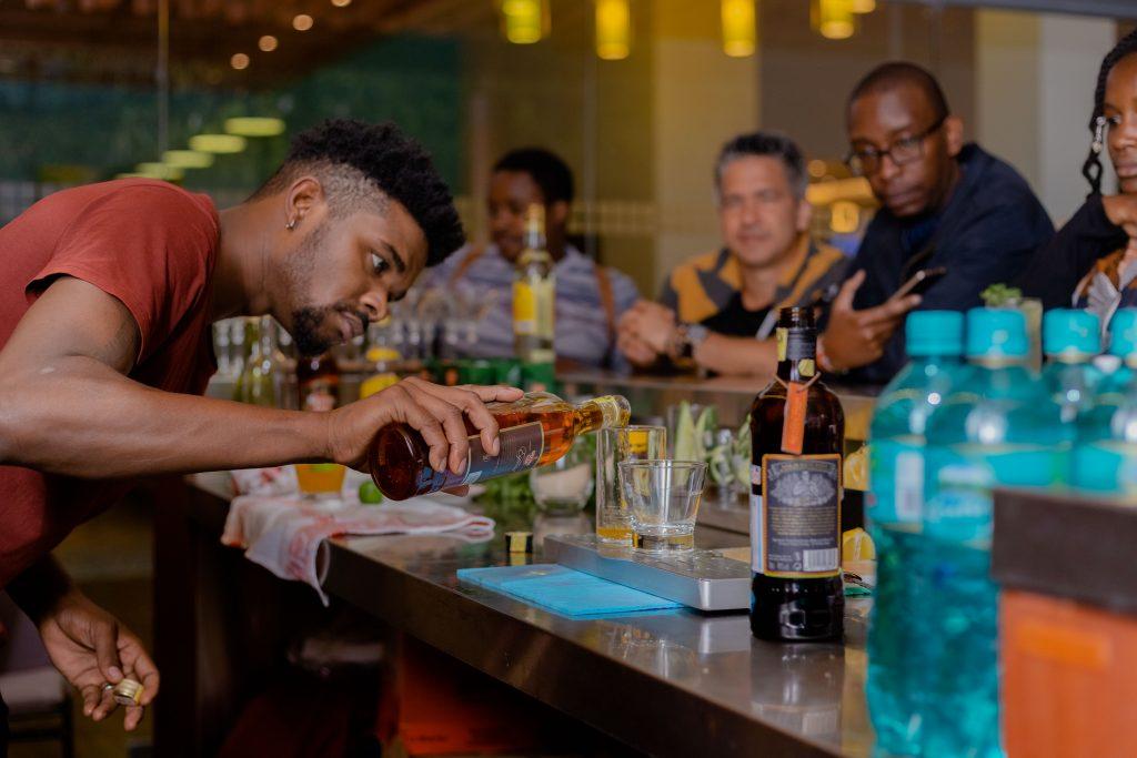 Havana Club Rum And Three Cocktails photo