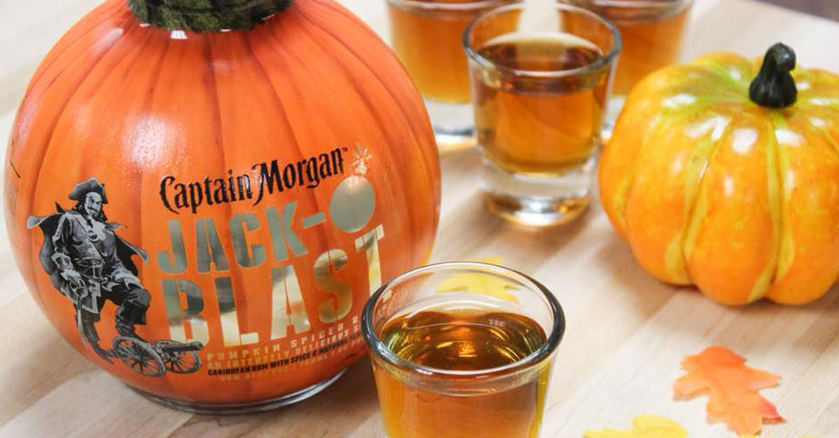 Captain Morgan?s Pumpkin Spiced Rum Is Back In Time For Fall photo