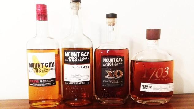 A Whiskey Drinker's Tasting Of Four Aged Mount Gay Rums photo