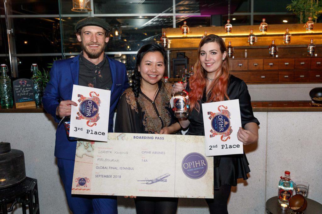 Opihr World Adventure Cocktail Competition Crowns Australian Winner photo