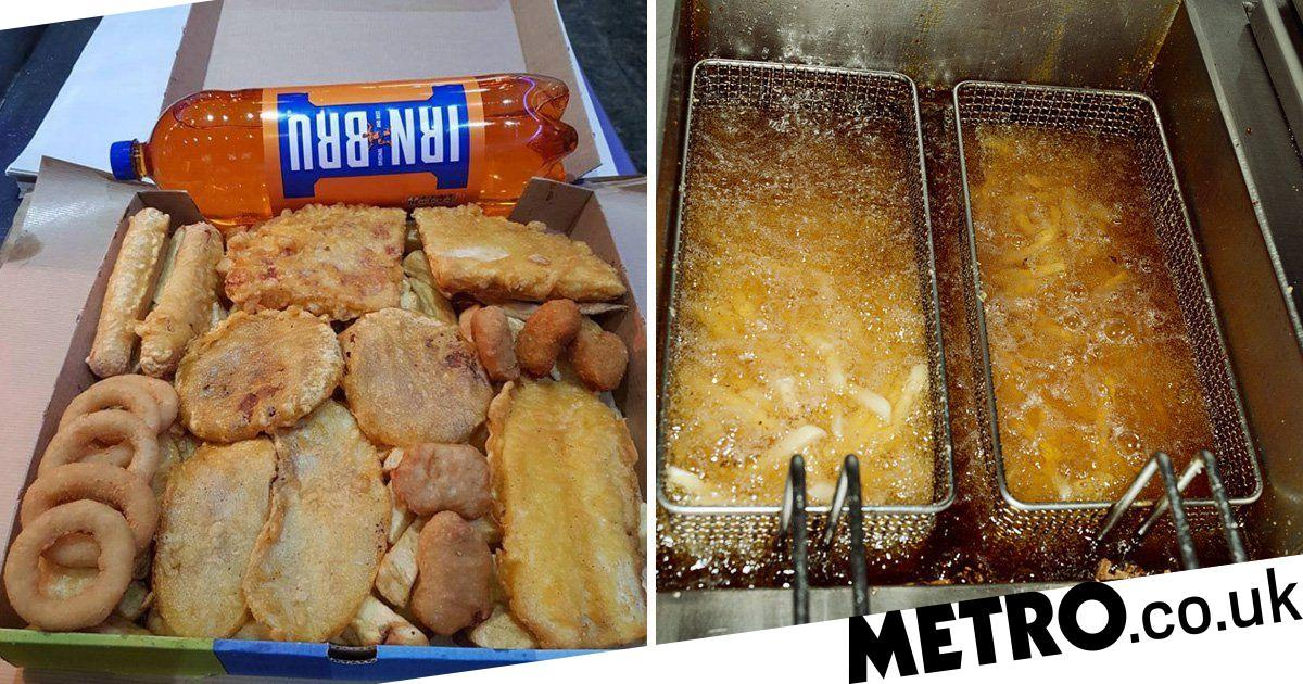 Takeaway Criticised For Selling 5,000-calorie Box Of Fried Food Under £10 photo