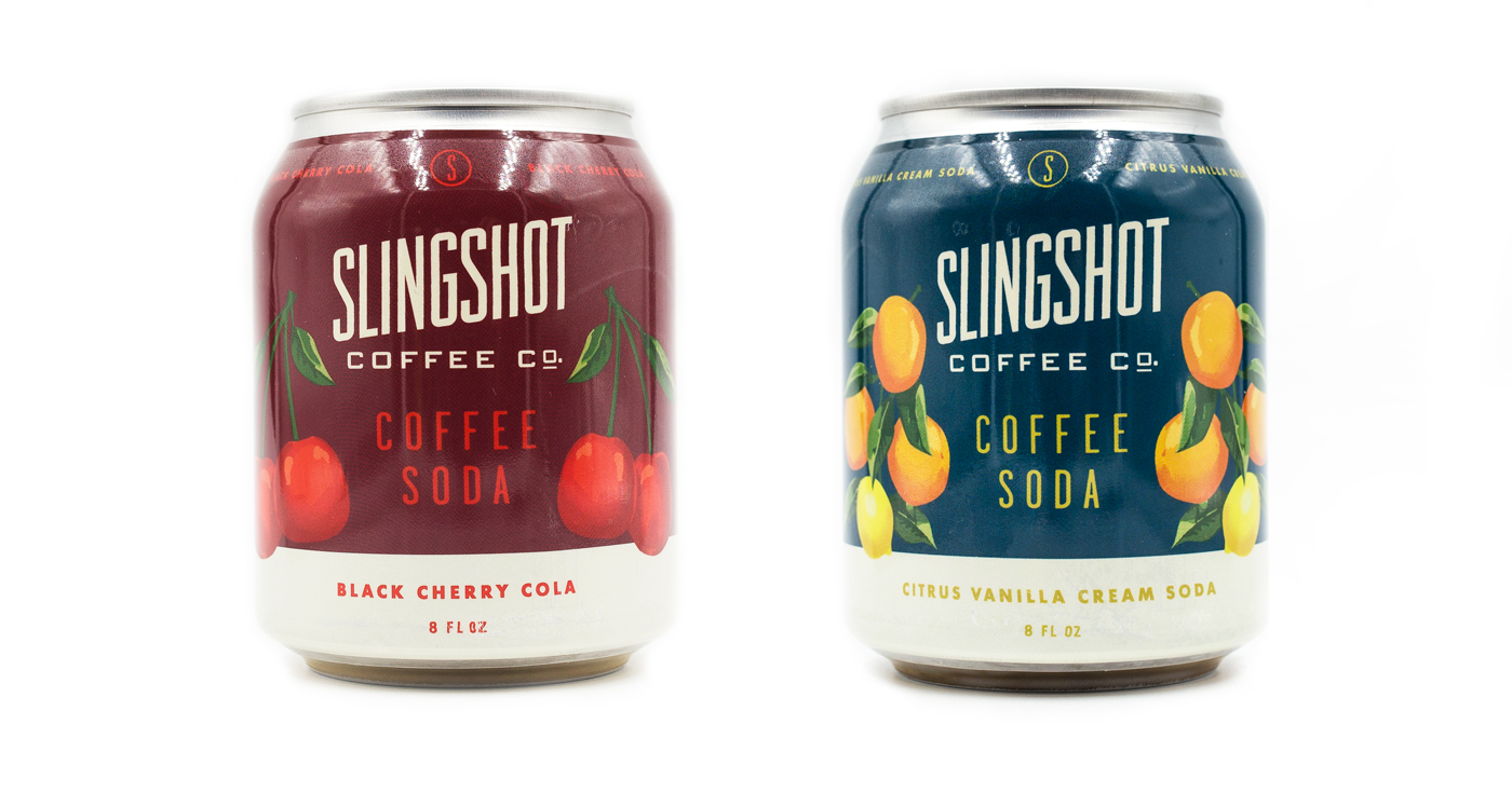 Slingshot Coffee Announces Two Flavors Of Their Brand New Coffee Soda photo
