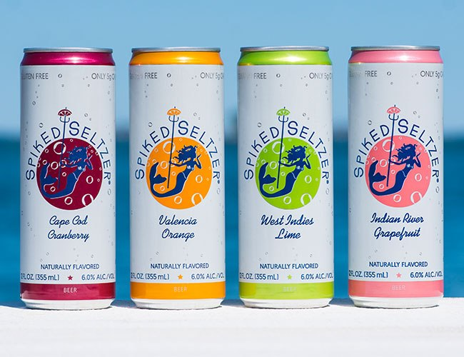 Spiked Seltzer Is The Boozy Sip Of The Summer photo