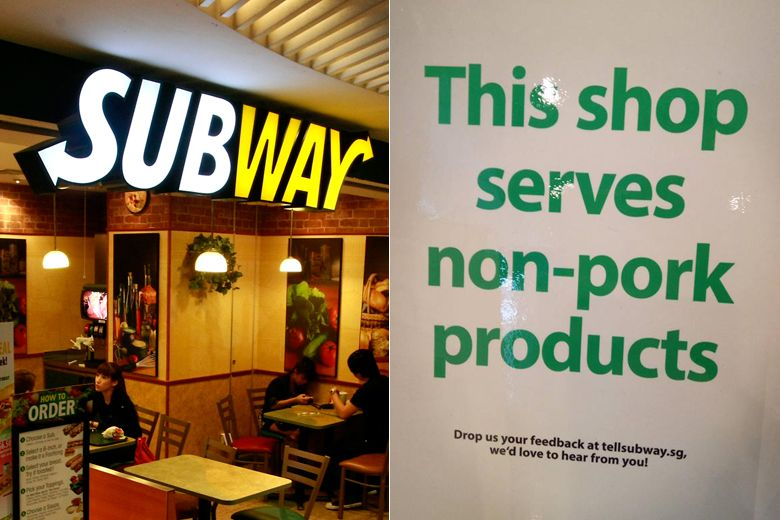 Subway Outlets Officially Certified Halal By Muis, photo