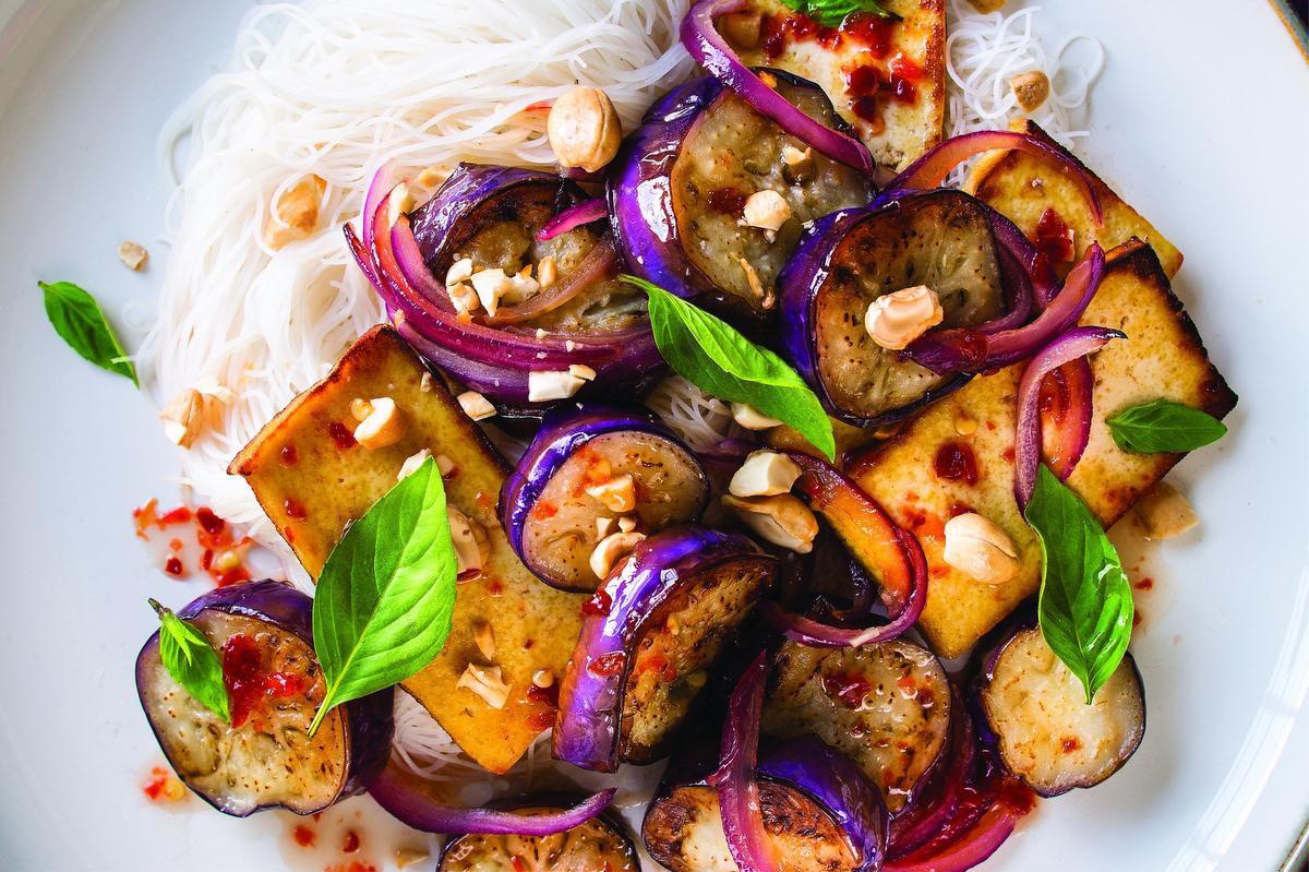 Eggplant Beefs Up This Veggie Dish photo