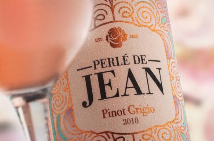 Van Loveren Introduces Sa's First Pinot Grigio Rosé, Perlé De Jean photo