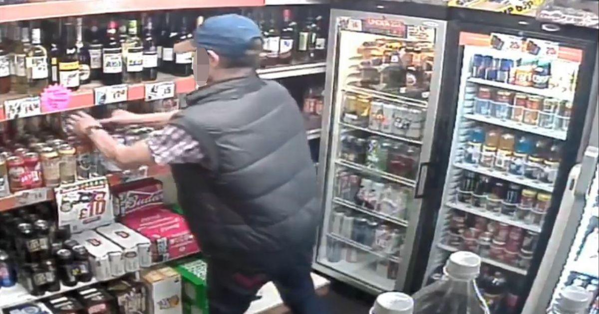 Drunk Man Accused Of Shoplifting photo
