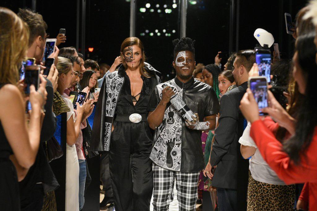 Next Stop, Nigeria! Belvedere Vodka X Laolu Reveals Limited Edition Bottle At New York Fashion Week photo