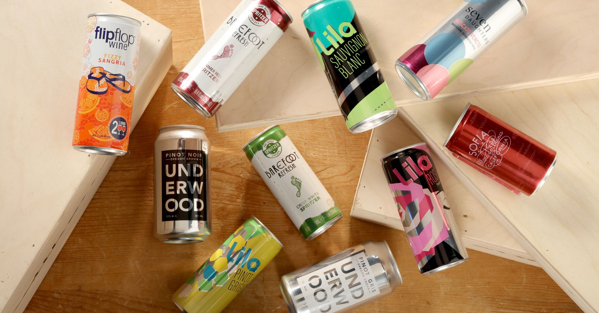 Canned Wine Is No Longer A Fad, It's A $45 Million Business photo