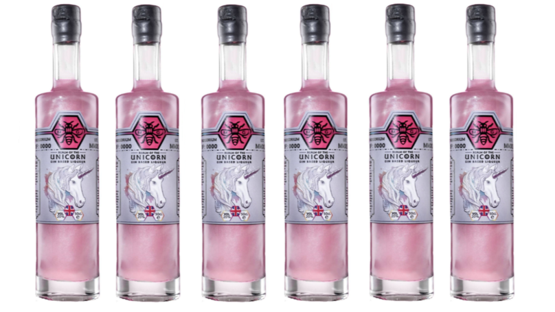 Jd Wetherspoon Now Stocks Shimmering Pink Unicorn Gin photo