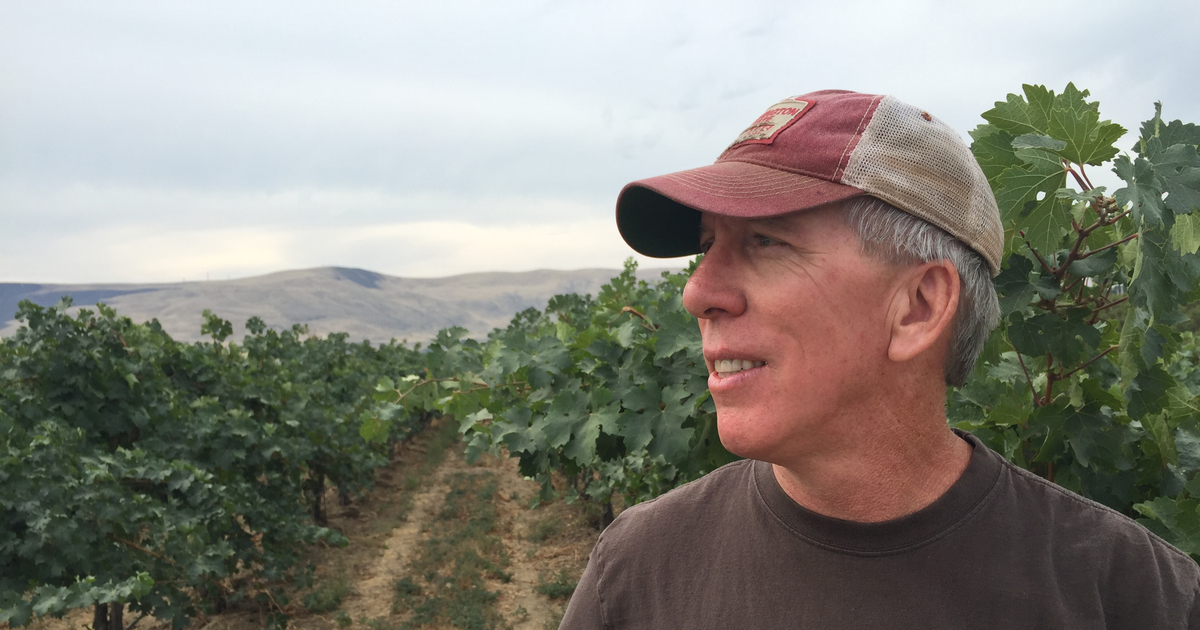 Colin Morrell Has Turned An Abandoned Sheep Farm Along A Remote Stretch Of The Yakima Valley Into A Source Of High-quality Grapes photo