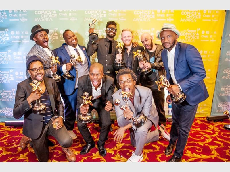Annual Comics' Choice Awards Celebrate Eight Years, 12 Award Winners And The Rhythm Of Funny. photo