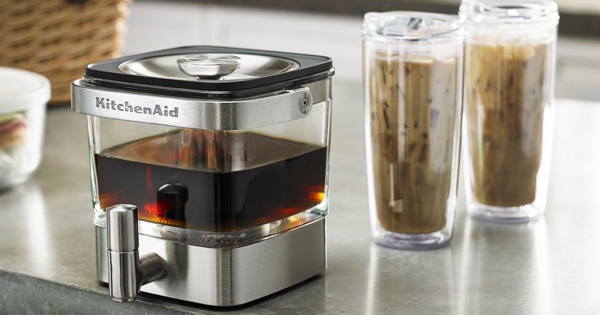 Save $50 On A Kitchenaid Cold Brew Coffee Maker From Walmart photo