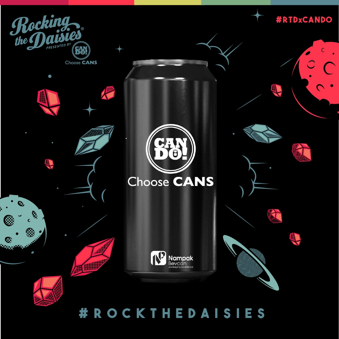 Rocking The Daisies Pairs Up With Can Do! To Go Plastic Free photo