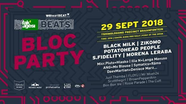 Fak'ugesi Fest Presents Beats Bloc Party 2018 photo