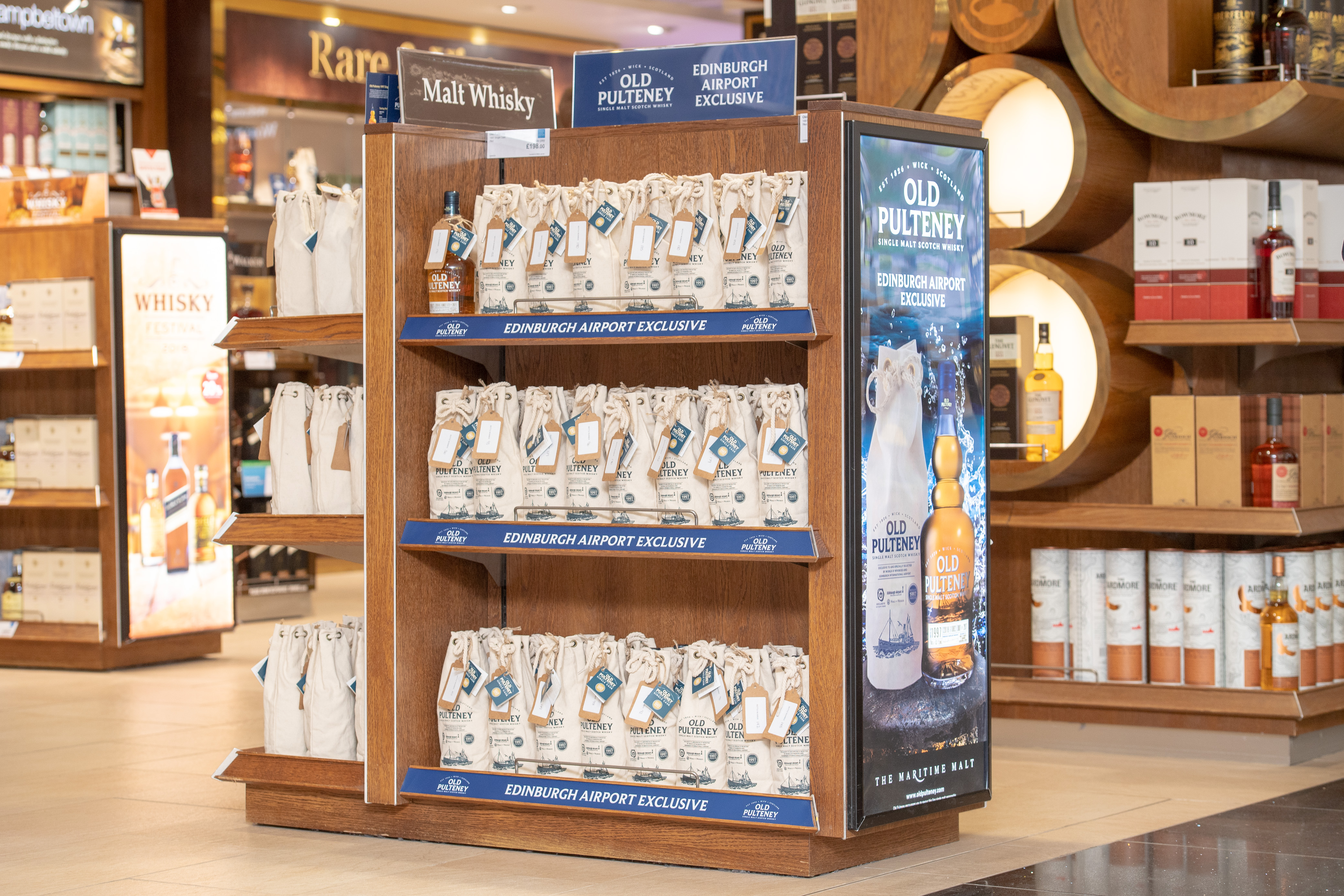 Old Pulteney Offers New Expression Exclusively At Edinburgh Airport World Of Whiskies photo