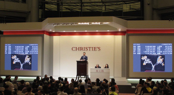 Christies? Auctioneer Warns Asia Will Buy All Quality Wine photo