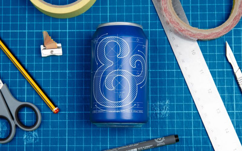 Robot Food Crafts New Beer Can Designs For Vocation Brewery photo