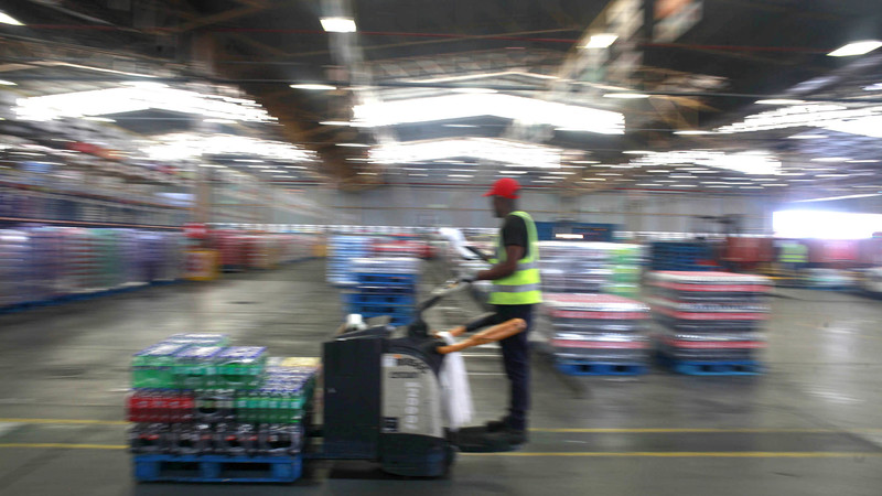 Coca-cola's Green Drive In Sa Skids  On Plastic Scarcity photo