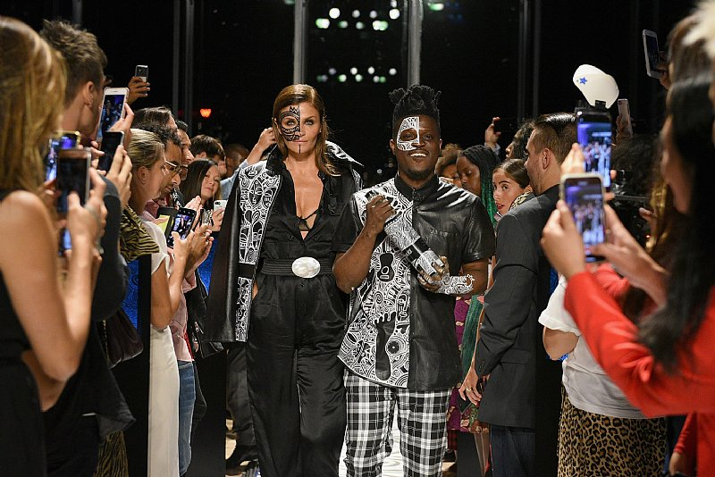 Next Stop, Nigeria! Belvedere Vodka X Laolu Reveals Limited Edition Bottle At New York Fashion Week photo