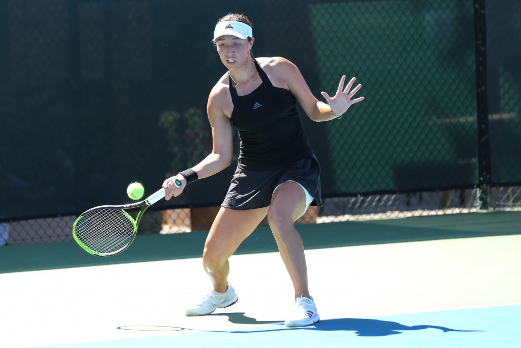 American?s Asia Muhammad And Maria Sanchez Win In Singles And Doubles At Central Coast Pro Tennis Open photo