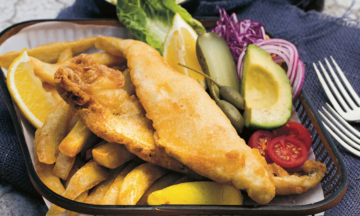Adam Liaw's King George Whiting & Chips photo
