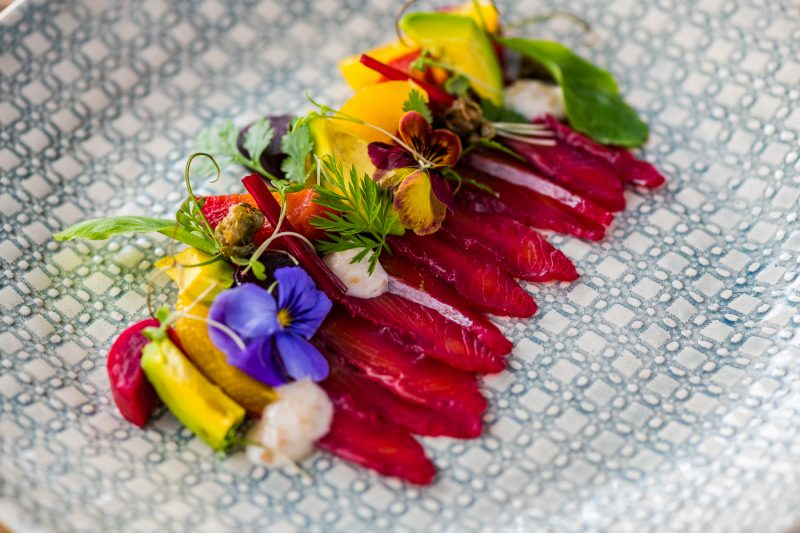 Beetroot Cured Salmon Gravlax e1537174223525 Kunjani in Stellenbosch Launches New Spring Menu