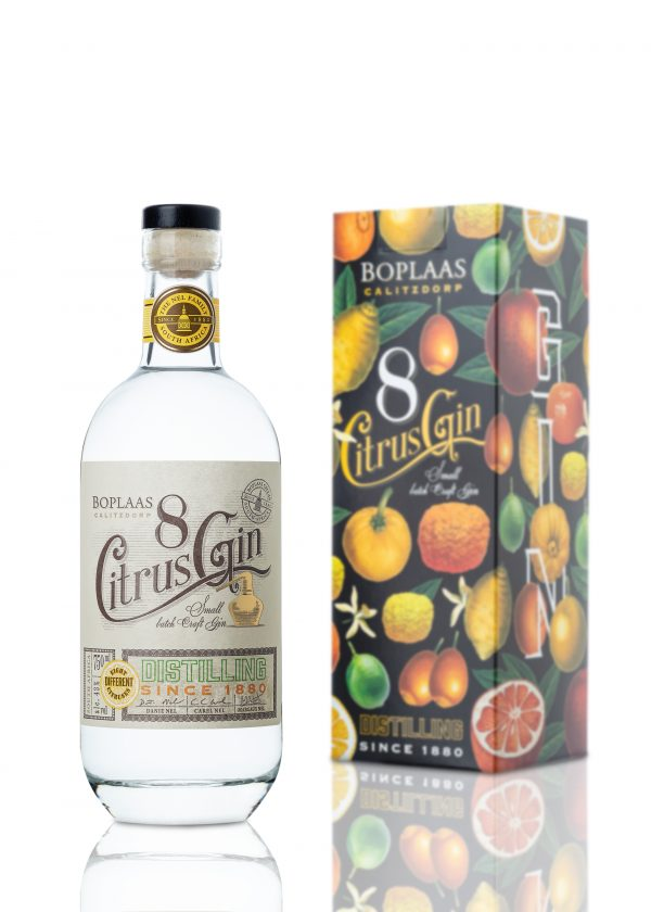 Take your G&T to the next level with new Eight Citrus Gin by Boplaas photo