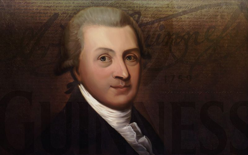 Celebrating Arthur Guinness, Founder Of The Famous Dublin Brewery, On His Birthday photo