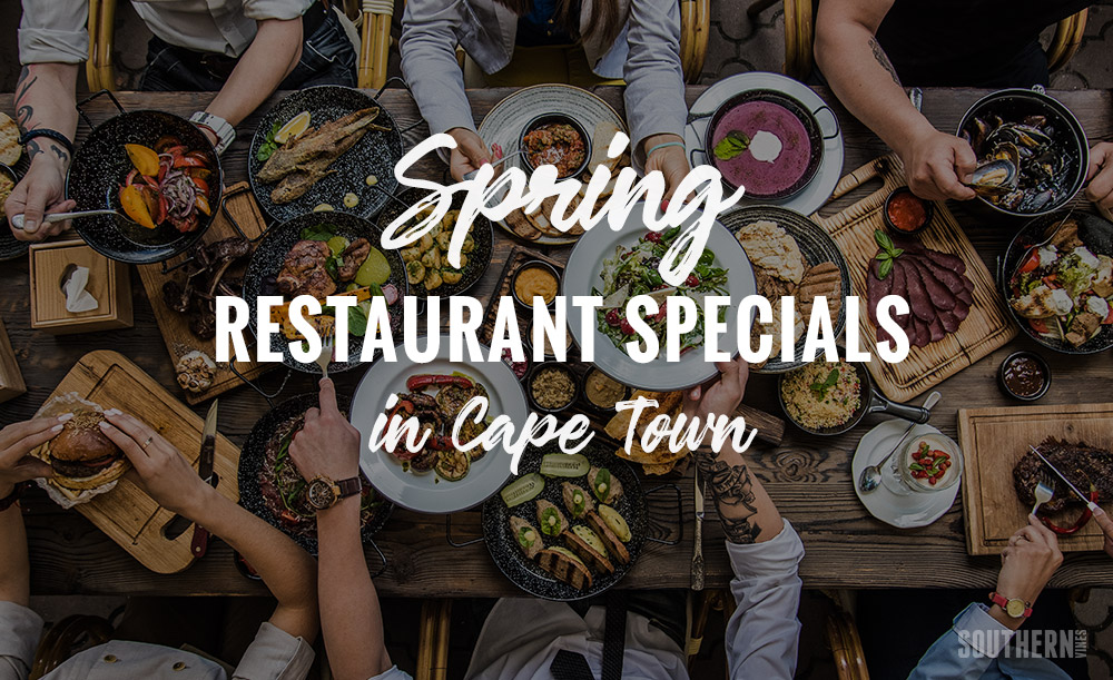 Spring 2018 Restaurant Specials In Cape Town photo